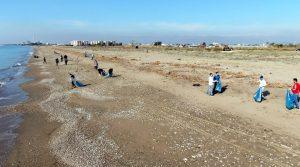 kazanli sahili temizlendi 1 KAZANLI SAHİLİNDE MÜTHİŞ DEĞİŞİKLİK