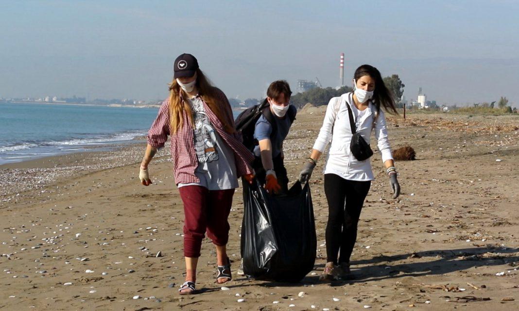 kazanli sahili temizlendi 2 KAZANLI SAHİLİNDE MÜTHİŞ DEĞİŞİKLİK