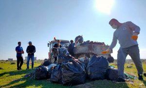 kazanli sahili temizlendi 5 KAZANLI SAHİLİNDE MÜTHİŞ DEĞİŞİKLİK