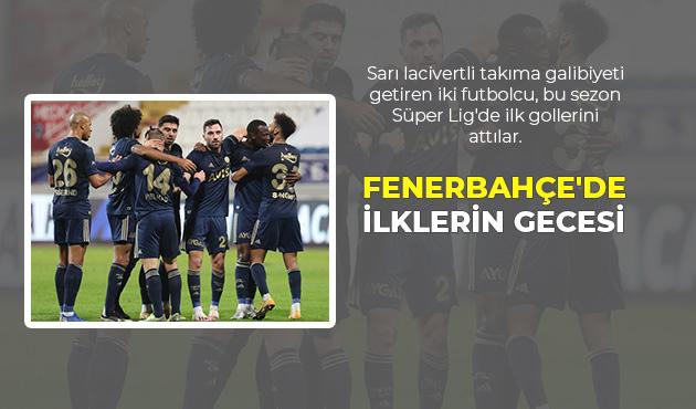 HABER 33 MANSETLI FENERBAHÇE'DE İLKLERİN GECESİ