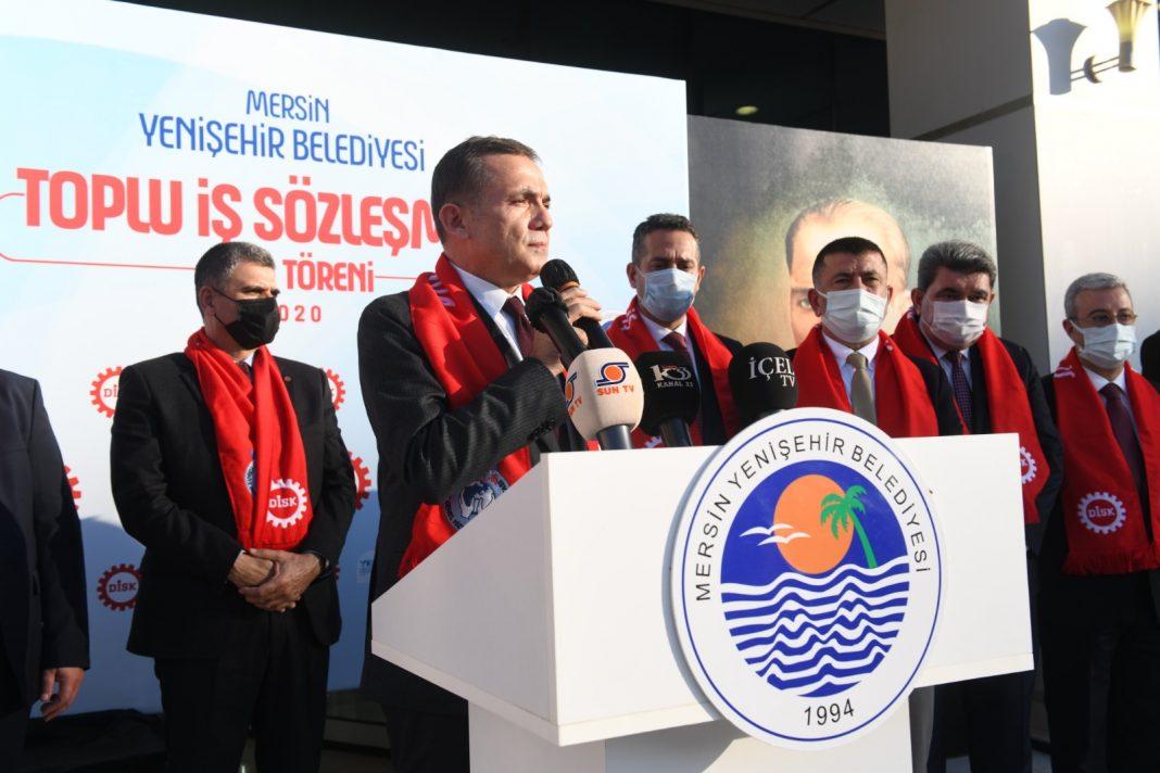 Mersin Yenisehir Belediyesinde asgari ucret 3.883 TL oldu 7 YENİŞEHİR BELEDİYESİNDE ASGARİ ÜCRET BELLİ OLDU