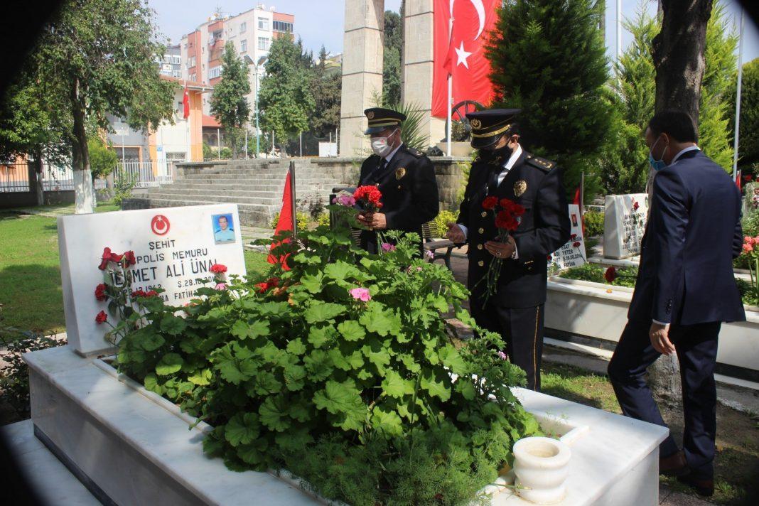 AW290139 01 ŞEHİT POLİSLER İÇİN MEVLİT OKUTULDU
