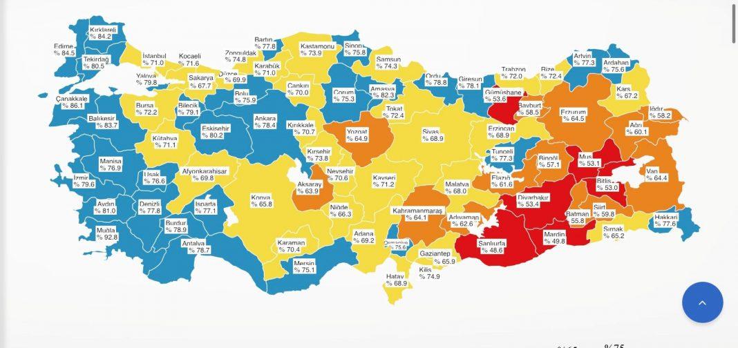 AW396855 01 MERSİN, AŞILAMADA MAVİ KATEGORİDE